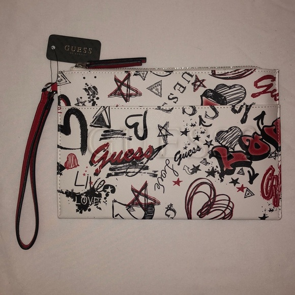 Guess Handbags - NWT Guess Wristlet Clutch